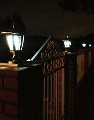 Copper Solar Post Lights