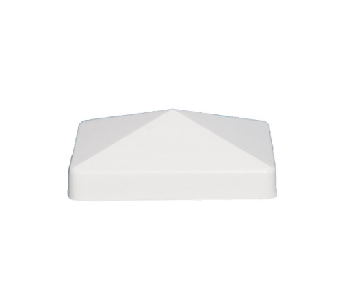 5x5 PVC fence post caps are designed to fit your actual 5x5 PVC or Vinyl deck posts.