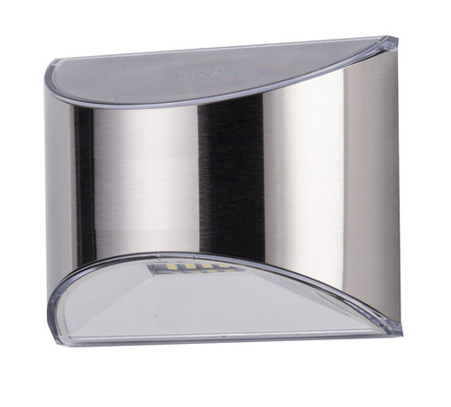 Stainless Steel solar deck rail lights add safety to your stairway steps.