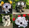 We have choices for you to purchase in our Solar Dog Light Statue and Animal Garden Solar Light category.