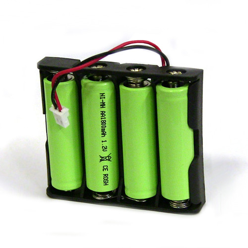 This solar battery pack is specifically made to replace the existing battery pack in Sunnydaze solar fountains.