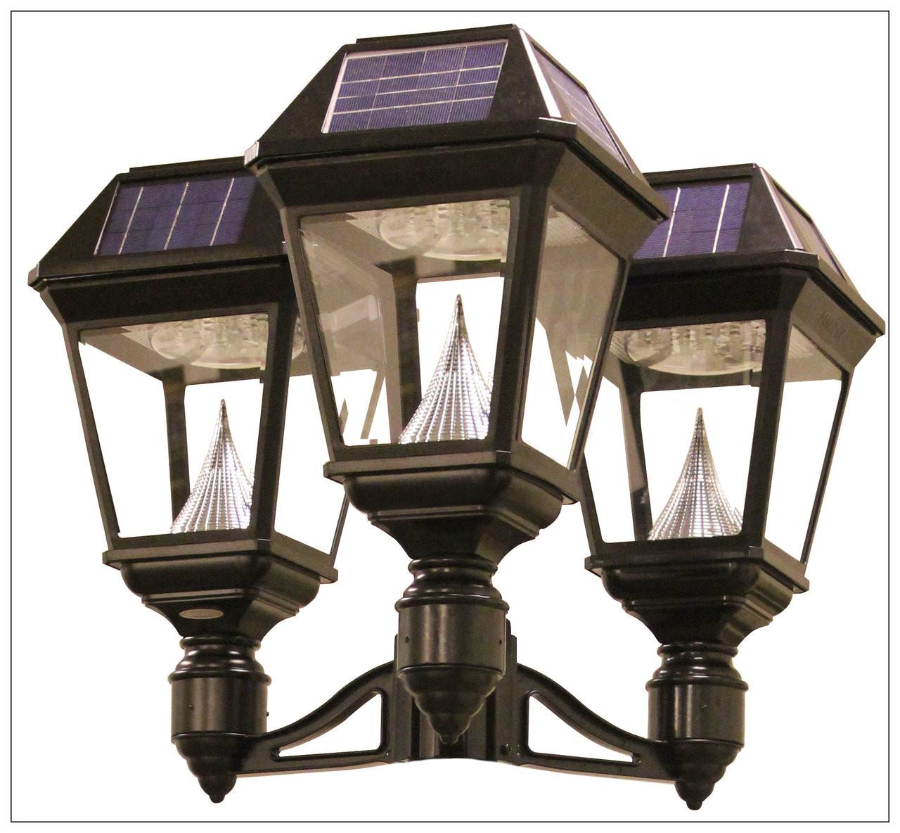 info for fb38c ed0c8 Solar Lamp Post Light Fixture, Bright 900 Lumens, Gama Sonic