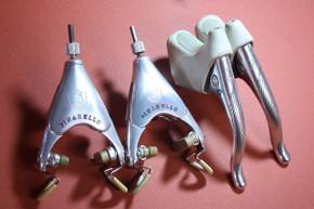 NOS! Campagnolo Prototype C-Record DELTA Brakes & Levers: Pinarello Pantograph, 1st Gen