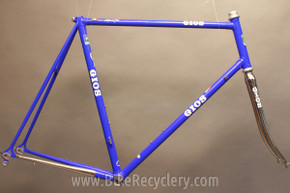 GIOS Compact Road Bike Frame: 60cm (c-c), Dedacciai Lite Lugged Steel