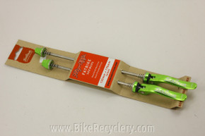 Salsa Flip Offs Fat Bike Skewers: Green (NEW)