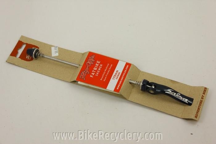 Salsa Flip Offs Fat Bike Rear Skewer: 170mm, Black, NEW