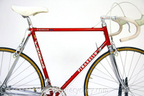 NOS 1984 Pinarello Montello Road Bike: FULL Prototype Campagnolo C-Record & Delta, Used to Present Prototype C-Record Gruppo at 84' NYC Bike Show