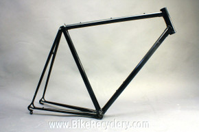 1984 Bruce Gordon Chinook Frame:  56cm, Metallic Black, Columbus Sl Lugged Steel, 101 Ever Made