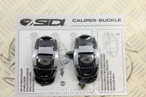 NEW Sidi Caliper Buckles, Black/Grey