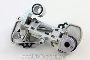 Prototype Maching Joe's Rear Derailleur: CNC 1990's, Silver SUPER RARE!
