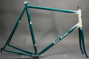 Russ Denny Fillet Brazed Steel Road Bike Frame: XL, Dave Moulton Fuso