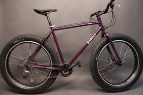 "Surly Pugsley Fat Bike: 1st Gen Purple! Large 20"" XTR Juicy Seven 2005"