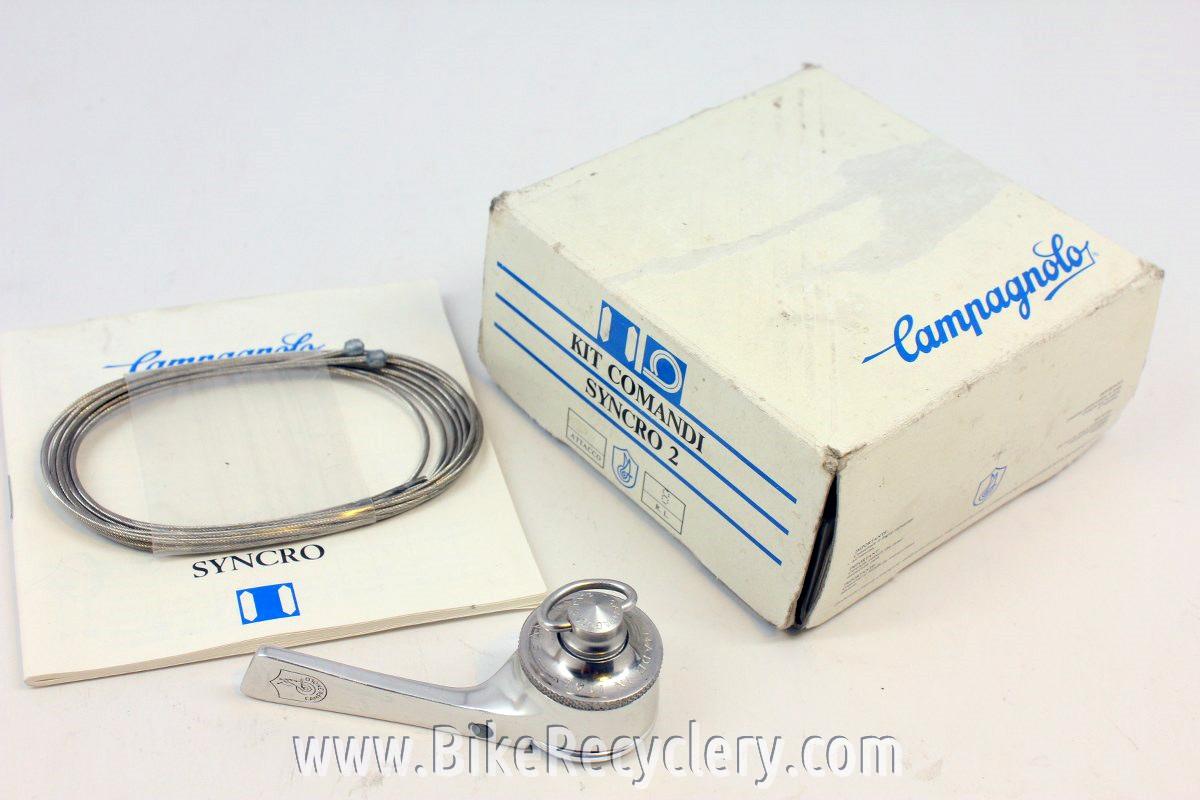 """Vintage Campagnolo C Record """"Kit Comandi"""" Syncro Shifters NOS NIB"""