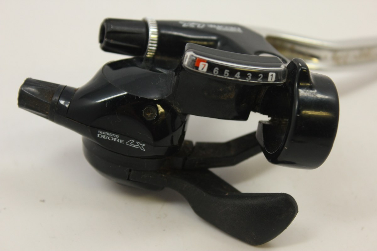 Shimano Deore LX 7-Speed Rapidfire Combo Shifter: ST-568 Right/Rear