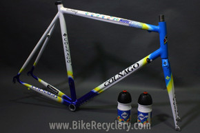 1990's Colnago Dream Team Mapei Frame & Original Steel Straight Blade Precisa Fork, 58cm