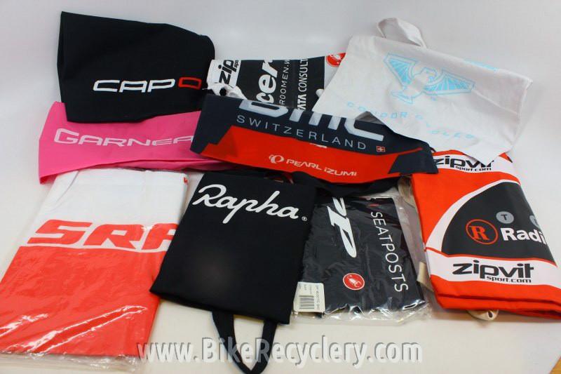 Cycling Musette Feed Bag Lot: Rapha, Sram, BMC, Capo, Zipp, Radioshack,  Garneau, etc 10pc NEW