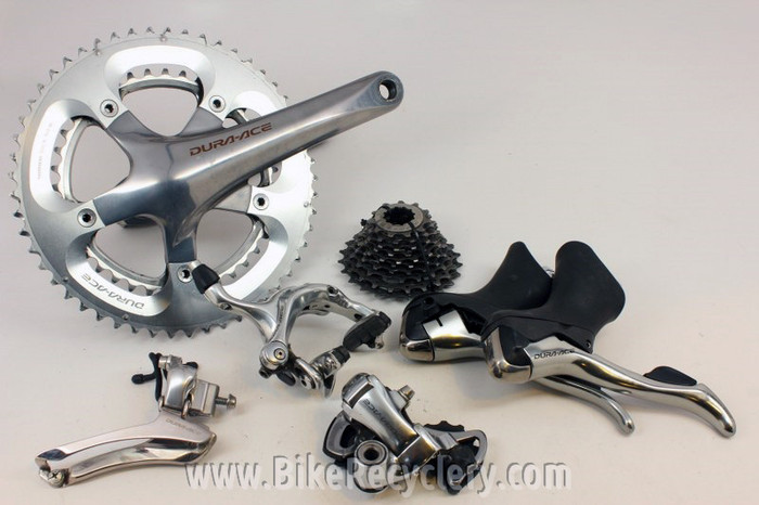 ee2df13894e ... Shimano dura Ace 7800 Groupset: 10 Speed, FC - RD - FD - ST - CS - BR.  Image 1