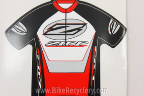ZIPP Speed Weaponry Mini Jersey Sticker