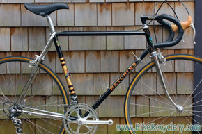1981 Hetchins Keyhole Spade Custom Road Bike: 55.5cm (c-c), Bob Jackson Built, Top Spec Build, Barely Ridden & Mint, Black w/ Full Chrome Stays/Fork