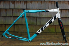 Yeti ARC-X Cyclocross Frame: Easton EC90 Fork, Medium, Nearly Unused