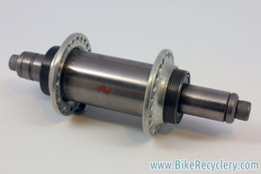 Vintage Phil Wood Tandem Rear DISC Hub: 140mm, 48H, Flip-Flop, Low Flange, Stainless Steel, Bolt on 1970's NM
