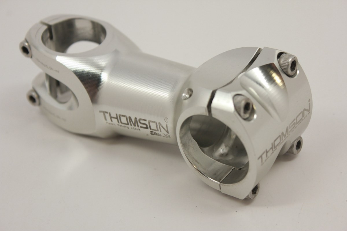 "New Thomson Elite X4 Stem Silver 1 1//8/"" 10 Rise 90mm 31.8mm 10 degree mtb Bike"
