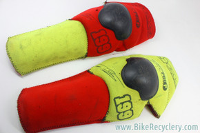 Vintage 1990's DH Mountain Bike Knee Pads: EVS Pro-F Gary Bailey Series