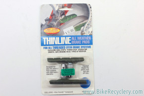 Kool Stop Thinline V-Brake Pads: Ceramic Rim, NEW (pair)