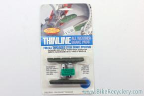 Kool Stop Thinline V-Brake Pads: Ceramic Rim, NEW (pair)