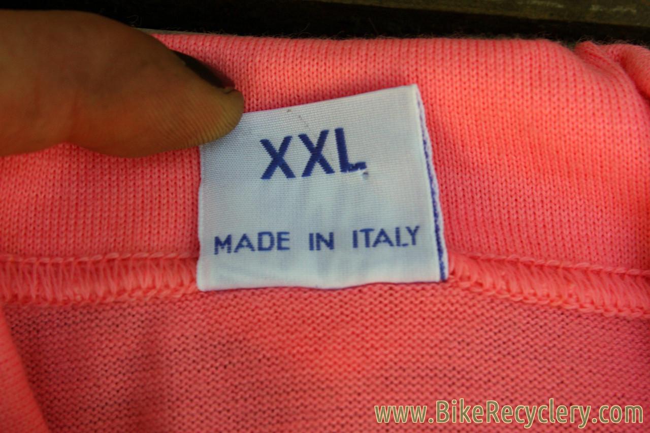 NEW 1940 s Vintage-Styled Wool Cycling Jersey  La Gazzetta dello ... fcc669977