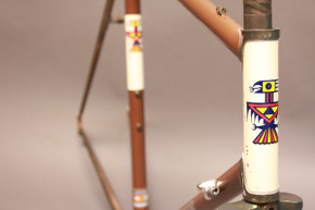 1974 Andy Gilmour Frame/Fork: Gilmour's 244th Frame Ever! Nickel Plated Fork/Lugs - 56cm