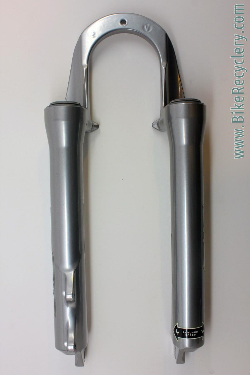 Nos Nib Vintage Rockshox Sid Sl Pure Dual Air Fork Lowers 26 Rock Shox World Cup Wht Carbon Image 4