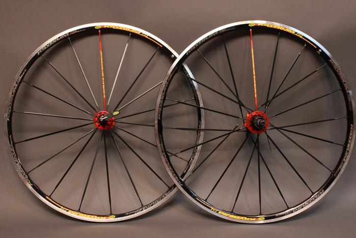 Mavic Ksyrium Sl Wheelset Black W Red Spoke 2012 Model