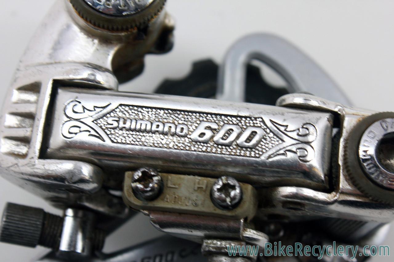 Shimano 600 EX Arabesque Rear Derailleur: RD-6200 -Mid Cage (EXC+)
