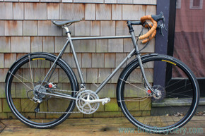 Bilenky Midlands Signature Touring Bike! 56cm x 58cm - Disc - Campy Record Carbon Ti 10sp Triple - Fillet Brazed (MINT+)