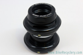 "NOS Suntour XC Pro Headset: 1 1/8"" Threaded - Grease Guard - Black"