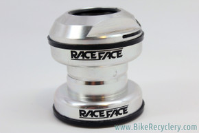"NOS Race Face Real Seal Threaded Headset: 1 1/8"" - Silver - RARE"