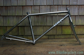 1987 Merlin Titanium Mountain Bike Frame: Welded By Gary Helfrich! Grease Guard BB - U Brake - Small/Medium