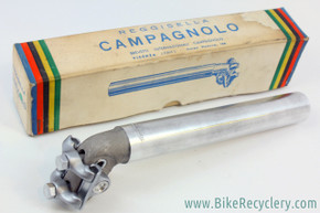 NIB/NOS Campagnolo Model Competition Brooks Record Narrow Rail Seatpost: 27.0mm - Model 1045 - 1950s 1960s EXC RARE