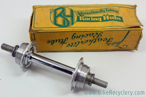 NIB/NOS British Hubs Company Airlite Rear Track Hub: 40H - Fixed/Fixed - 1940's