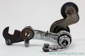 Antique Simplex Tour De France Juy Rear Derailleur: Plunger/ Push Rod - 1940's 1950's