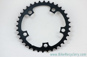 36T x 110mm Chainring: Powdercoated Black - 33g (New Take-off)