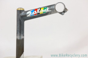 "Custom GREY Salsa Cycles Moto Quill Road Stem: 1"" - 115mm x 26mm - 15 DEG (EXC)"