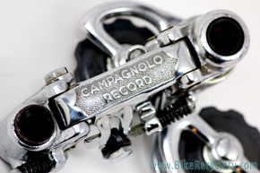 NOS 1st GEN Campagnolo Record Rear Derailleur Model 1020:  Steel-plated Bronze - 10t Pulleys - RARE & MINT
