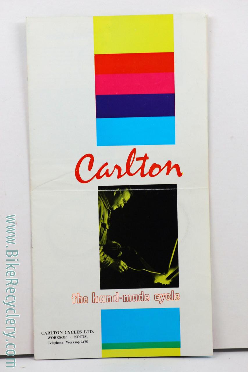 "CARLTON seat tube decal for /""Giro d/'Italia/"" model."
