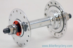 Maxi Car Type 1 Front Hub: 1940's - Riveted 3 Piece - High Polish - Buttery - 32H (RARE & Minty))