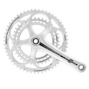 Campagnolo Athena Silver Triple Crankset: 172.5mm - 11 Speed - 52/39/30 - Power Torque (NEW)