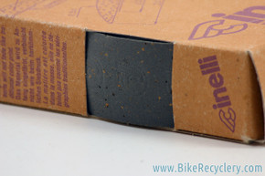 Cinelli Cork Handlebar Tape: Deep Grey