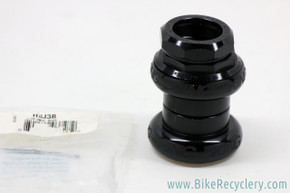 "Chris King 2Nut 1"" Threaded Headset: Black Sotto Voce (NEW)"