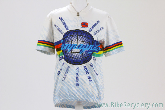 NEW Campagnolo World Logo Commemorative Cycling Jersey  IT XL 5 52cm ... 598a96b12